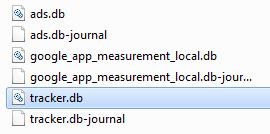 tracker database